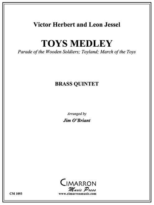 Toys Medley for Brass Quintet (Herbert and Jessel/arr. O'Briant)
