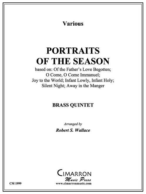 Portraits of the Season for Brass Quintet (Various/arr. Wallace)