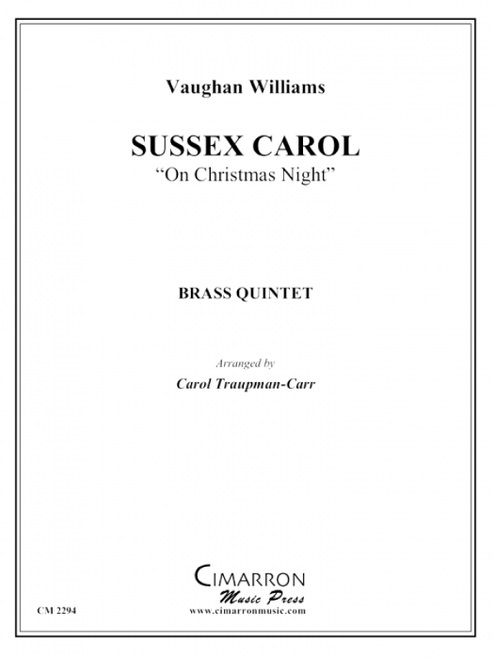 Sussex Carol Brass Quintet (Vaughan-Williams/ arr. Traupman-Carr)