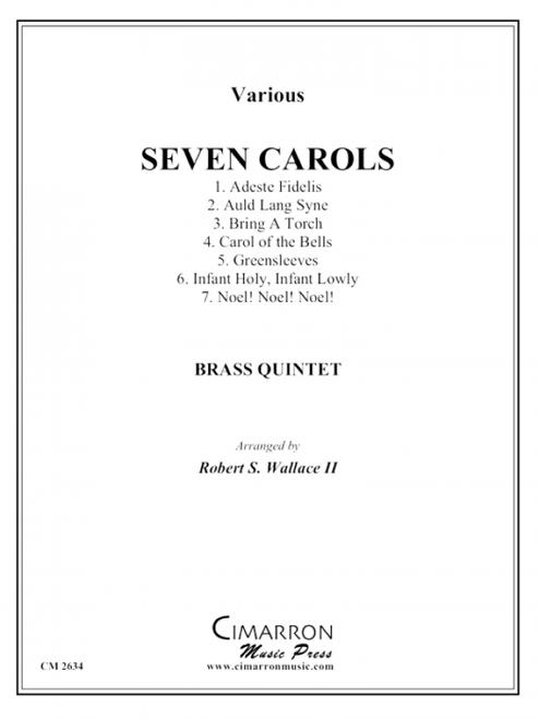 Seven Carols for Brass Quintet (Various/arr. Wallace)