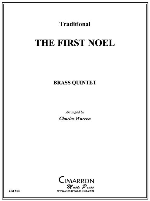The First Noel Brass Quintet (Trad./arr. Warren) PDF Download