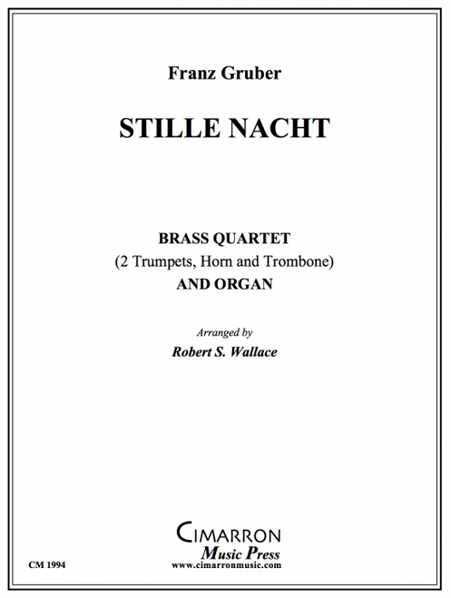 Stille Nacht for Brass Quartet and Organ (Gruber/arr. Wallace) PDF Download