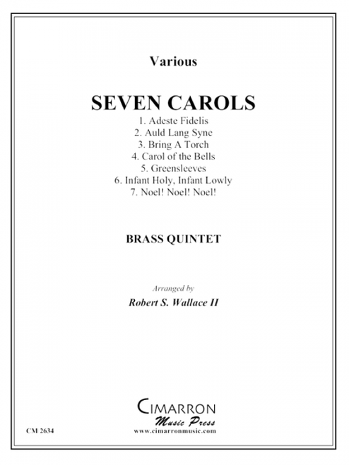 Seven Carols for Brass Quintet (Various/arr. Wallace) PDF Download
