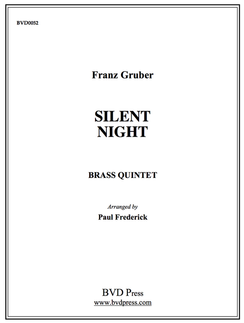 Silent Night for Brass Quintet (Gruber/arr. Frederick)