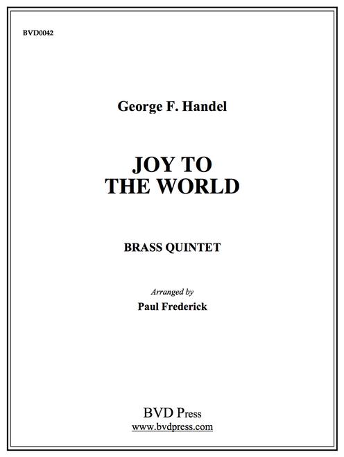 Joy to the World Brass Quintet (Handel/arr. Frederick) PDF Download