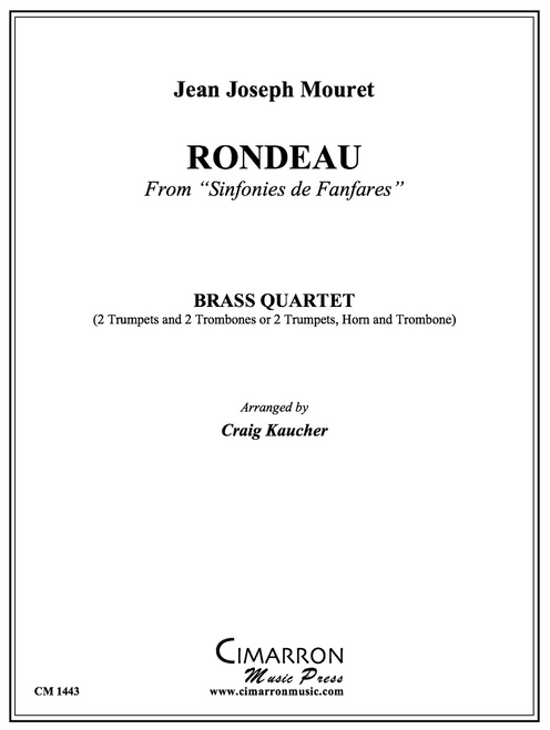 Rondeau for Brass Quartet (Mouret/ arr. Kaucher)