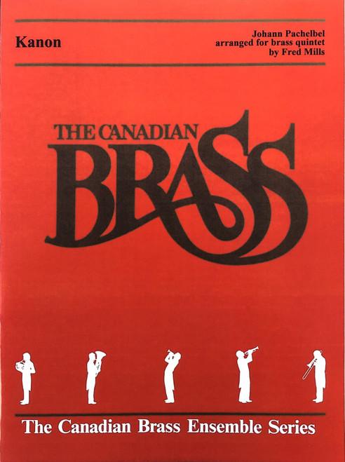 Kanon for Brass Quintet (Pachelbel/arr. Mills) PDF Download