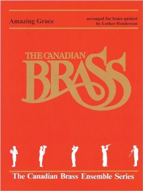Amazing Grace for Brass Quintet (Trad./arr. Henderson) Blackbinder Format (Horn in F part)