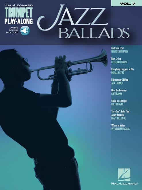 Jazz Ballads Trumpet Play-Along Volume  w/Online Audio