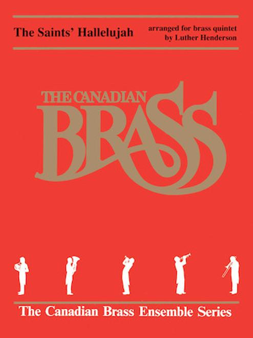 Saint's Hallelujah Brass Quintet (trad./ Henderson) Blackbinder Format (Trumpet 1 in Bb Part)