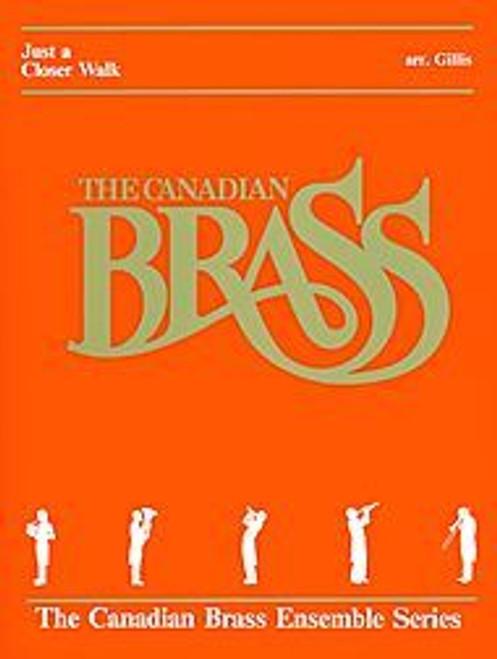Just a Closer Walk with Thee for Brass Quintet (Trad./arr. Gillis) Blackbinder Format (Trombone part)