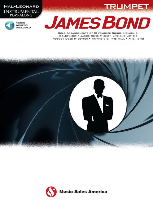 James Bond Trumpet Book Play Along