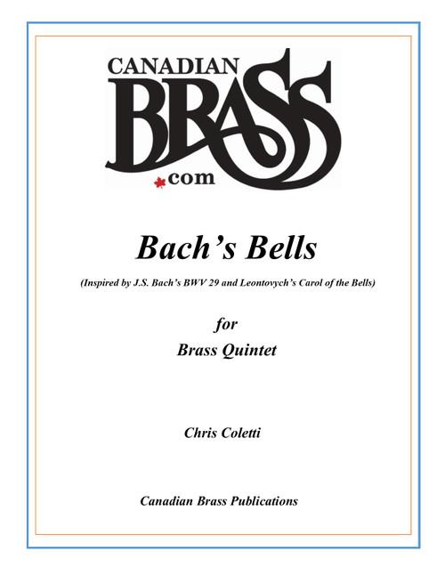 Bach's Bell for Brass Quintet (Chris Coletti) Blackbinder Format (Trombone part)