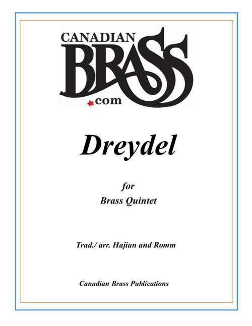 Dreydel for Brass Quintet (Trad./arr. Hajian and Romm) Blackbinder Format (Horn in F part)