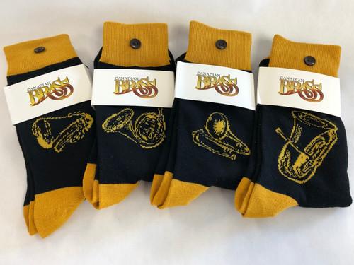 "Canadian Brass ""Instrument"" Socks"