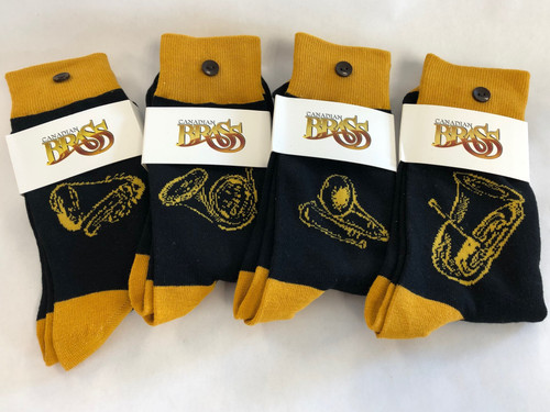 "Canadian Brass ""Instrument"" Socks"