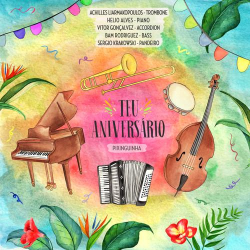 "Achilles Liarmakopoulos - ""Teu Aniversario"" Single Track High-Def Digital Download (wav File)"