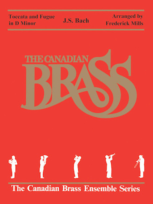 Toccata and Fugue in D minor Brass Quintet (Bach/arr. Mills) PDF Download