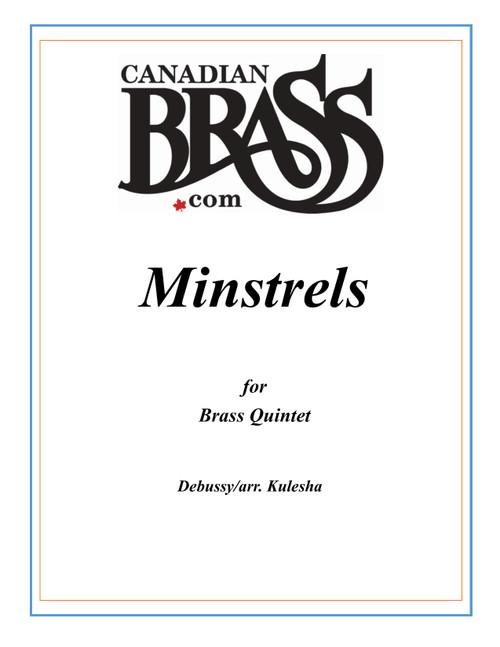MINSTRELS BRASS QUINTET (DEBUSSY/ARR. KULESHA) BLACKBINDER FORMAT