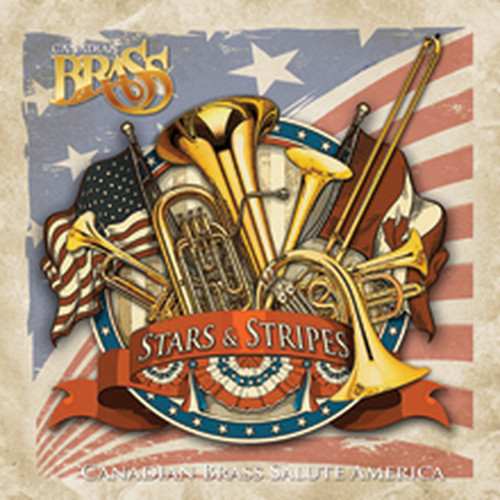 Stars and Stripes: Canadian Brass Salute America FLAC CD Quality (Lossless) Digital Download