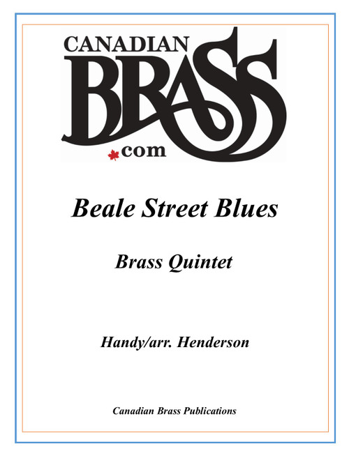 Beale Street Blues Brass Quintet (Handy/arr. Henderson) PDF Download
