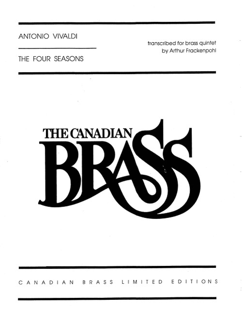 The Four Seasons Complete Brass Quintet (Vivaldi/arr. Frackenpohl) PDF Download