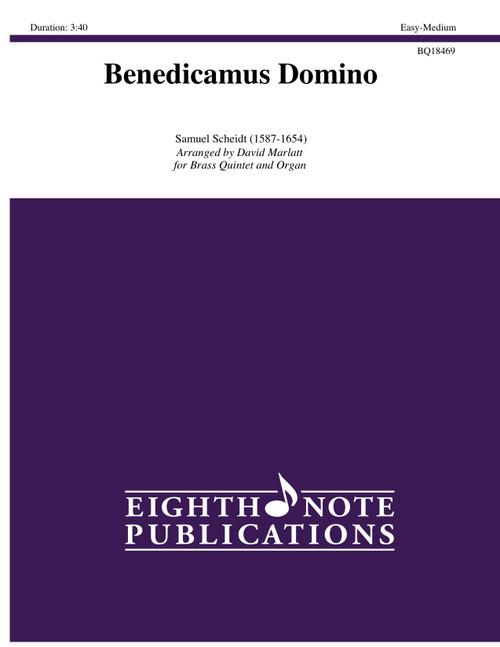 Benedicamus Domino for Brass Quintet & Organ (Scheidt/arr. Marlatt)