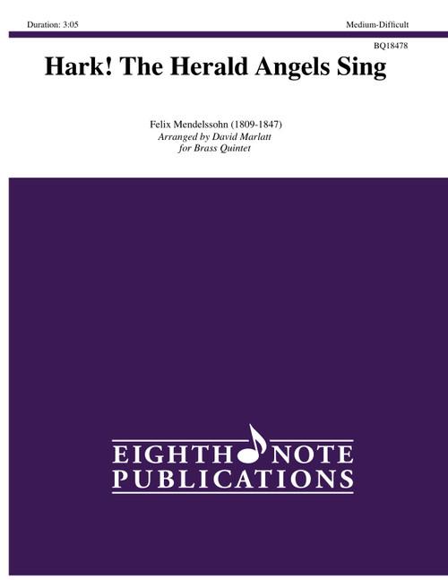 Hark! The Herald Angels Sing Brass Quintet (Mendelssohn/arr. Marlatt)