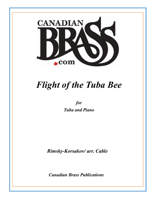 Flight of the Tuba Bee for Tuba and Piano (Rimsky-Korsakov/arr. Cable) PDF Download