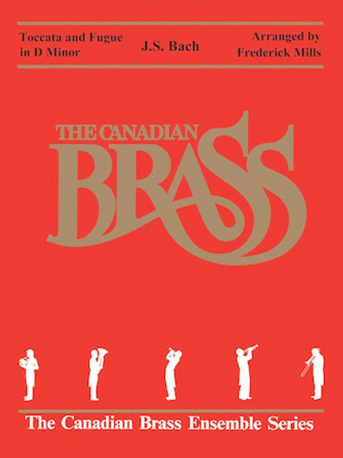 Toccata and Fugue in D Minor Brass Quintet BLACKBINDER FORMAT