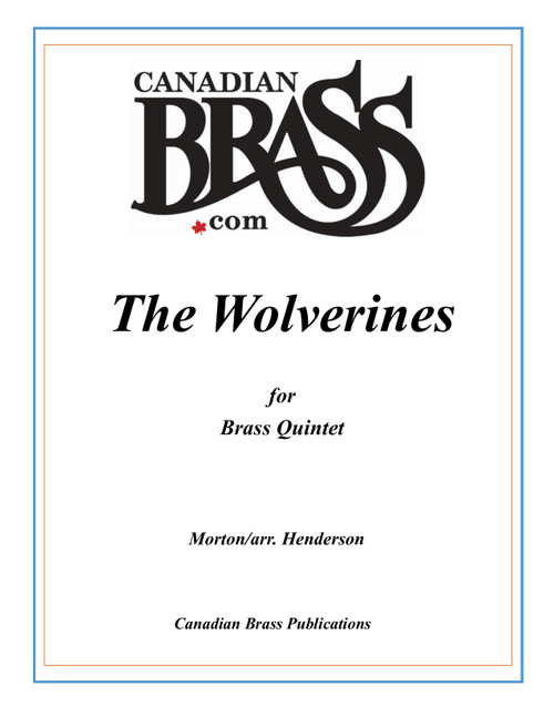 The Wolverines for Brass Quintet (Morton/arr. Henderson) PDF Download