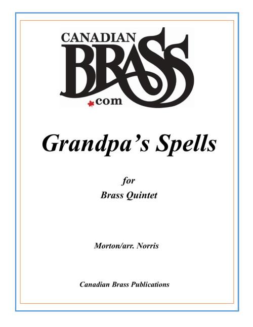 Grandpa's Spells for Brass Quintet (Morton/arr. Norris) PDF Download