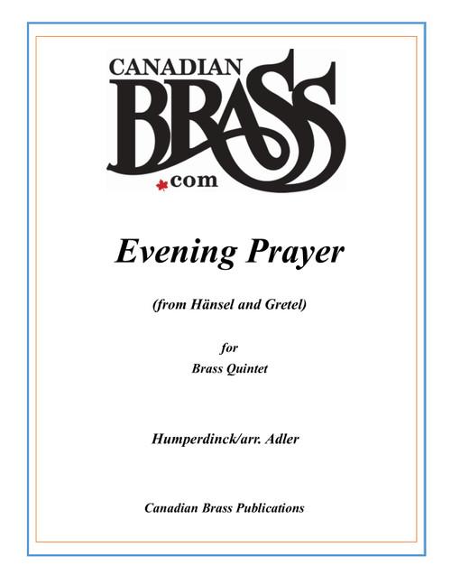 Evening Prayer from Hänsel and Gretel Brass Quintet (Humperdinck/arr. Adler)