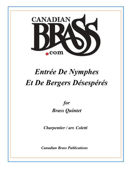 Entrée De Nymphes Et De Bergers Désespérés Brass Quintet (Charpentier/arr. Coletti) PDF Download