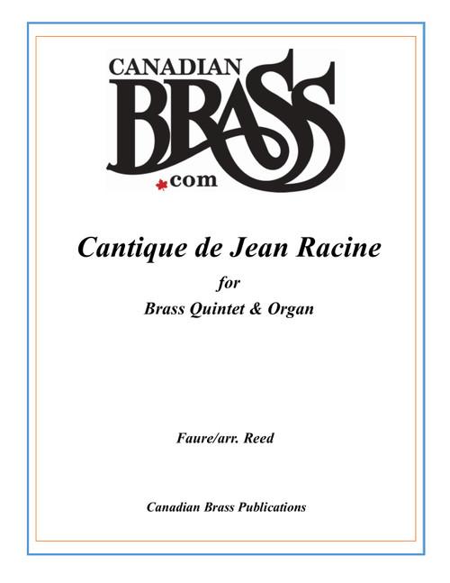 Cantique de Jean Racine for Brass Quintet & Organ (Faure/arr. Reed) PDF Download