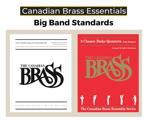 Essential Big Band Standards Brass Quintet Bundle (Glenn Miller & Duke Ellington)