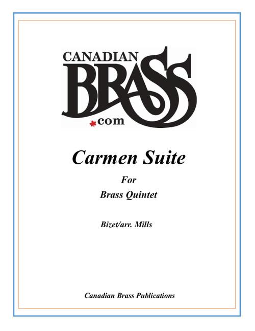 Carmen Suite for Brass Quintet (Bizet/arr. Mills) PDF Download
