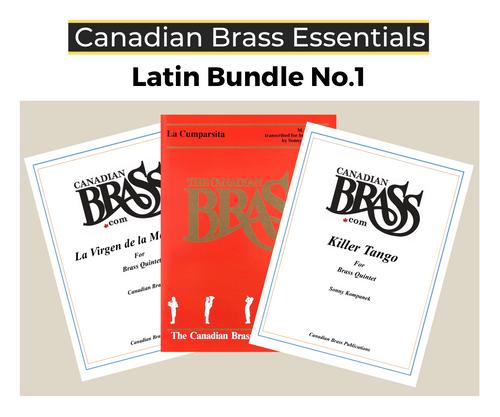 Essential Latin Brass Quintet Bundle (La Cumparsita, Killer Tango & La Virgen de la Macarena)