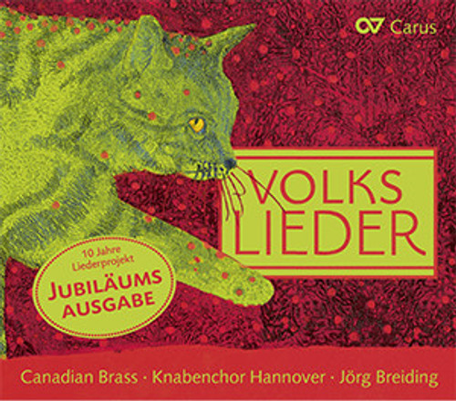Volkslieder CD with Canadian Brass and the Knabenchor Hannover