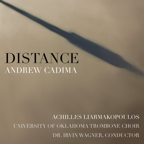 """""""Distance"""" for Solo Trombone & Trombone Choir - Achilles Liarmakopoulos and the University of Oklahoma Trombone Choir wav Digital Download Track"""