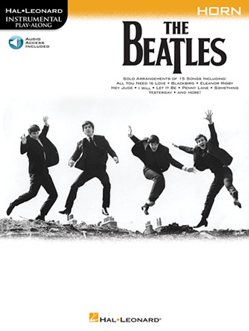The Beatles - Instrumental Play Along for Horn