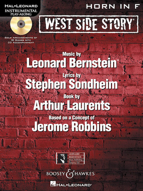 West Side Story for Horn - Instrumental Play Along Book