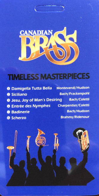 Canadian Brass - Timeless Masterpieces (Download Card)