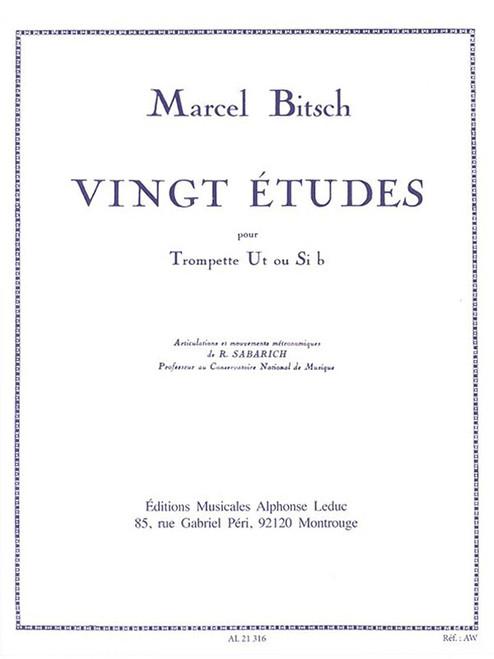 Vingt Etudes for Trumpet (Marcel Bitsch)