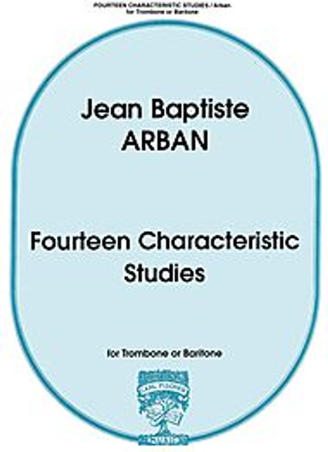 Fourteen Characteristic Studies for Trombone or Baritone (Jean Baptiste Arban)