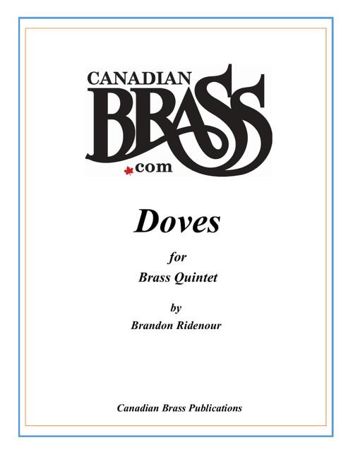 Doves for Brass Quintet by Brandon Ridenour