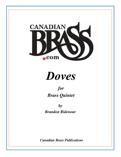 Doves for Brass Quintet PDF Download by Brandon Ridenour