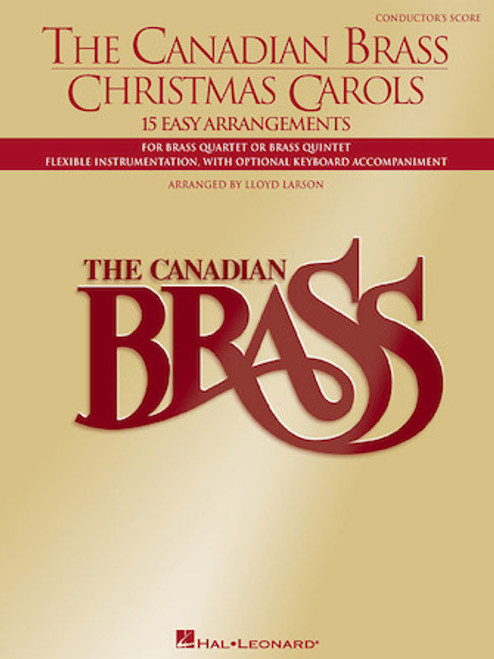 Canadian Brass Christmas Carols (Easy)-Flex Brass Music