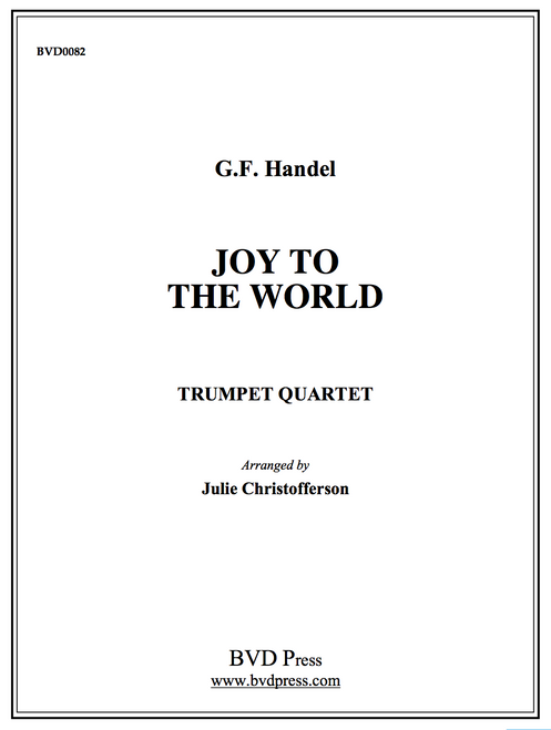 Joy to the World Trumpet Quartet PDF Download (Handel/arr. Christofferson)