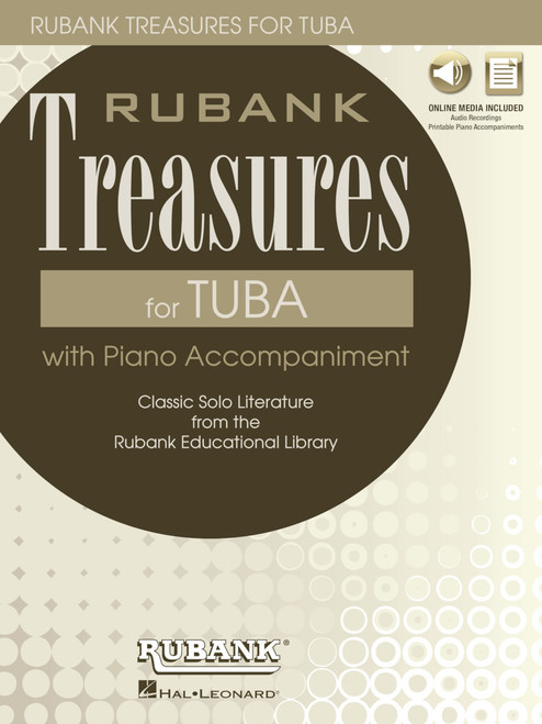 Rubank Treasures for Tuba with Online Audio (Stream or Download)